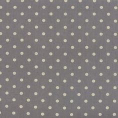 CANVAS Linen Cotton Blend MOCHI Dot Graphite by Momo of Moda Fabric BTHY by PrivateSourceQuiltin on Etsy