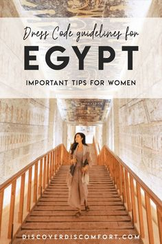 Trying to figure out what to wear as a woman in a Muslim majority country like Egypt can be tricky. Wearing something too revealing will not only attract unwanted attention, but it could also offend l Travel Advice, Travel Guides, Travel Tips, Travel Books, Egypt Map, Cairo Egypt, Pyramids Egypt, Egypt Travel, Africa Travel
