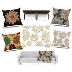 Collection of floral decor by Pom Graphic Design #floral #trend #floraltrend #floraldecor #flowers #abstract #multicolor #home #decor #bedroom #kess #interior #cool #interiordesign #duvet #bedding #kessinhouse #pomgraphicdesign #pillow #blanket #homeliving #hauteliving