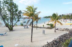 Beautiful beach at Riu Montego Bay, Jamaica