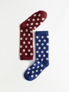 Madewell Lisa B.® dot trouser socks.