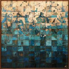 "Saatchi Art Artist Adam Colangelo; Collage, ""Fjords Series"" #art"