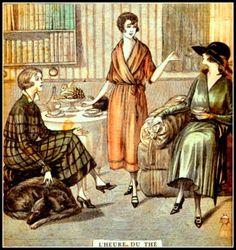 Tea Time Dec 1920