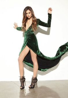 Nina Dobrev - Photoshoot for Ocean Drive