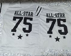 Best Seller  -  Jersey All Star #75 Couple Jersey Shirt Grey -  Click here to order:  http://www.coupleshirt.ph/product/jersey-all-star-75-couple-jersey-shirt-grey/   #couple