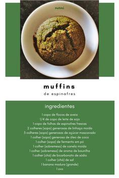 muffins de espinafres