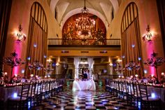 Hotel El Convento, in San Juan, Puerto Rico is a former Carmelite convent dating back to 1651. Now a European style hotel.
