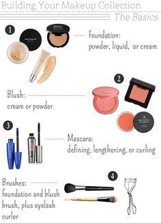 The Small Things Blog: Building Your Makeup Collection: Part 1