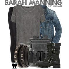 Inspired by Tatiana Maslany as Sarah Manning on Orphan Black.