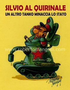 ITALIAN COMICS - L'incontro Napolitano – Berlusconi: tutta la verità…