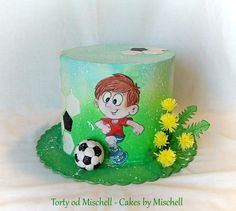 58 Trendy ideas for birthday cake kids football Football Cakes For Boys, Soccer Cakes, Kids Football, Mum Birthday Gift, Birthday Cake, Homemade Gatorade, Sports Themed Cakes, Lemon And Coconut Cake, Wafer Paper Cake