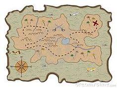treasure map - diy