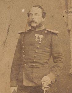 Soldat mit Orden - CDV - Mannheim um 1870 -   Sammeln & Seltenes, Militaria, 1871-1918.