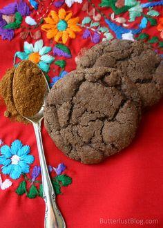 Mexican Hot Chocolate Cookies | ButterlustBlog.com
