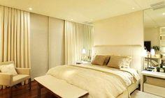 ideias de cortina com persiana rolô