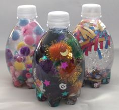 Colorful Visual Discovery Bottles