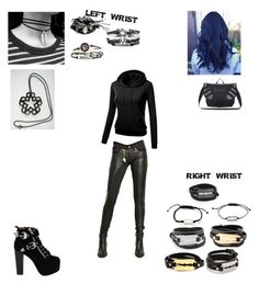 """""""Ryder 11"""" by onyx-riddle-2413 on Polyvore featuring Tuesday Night Band Practice, WithChic, Jeffrey Campbell, McQ by Alexander McQueen, Mateo and ALDO"""