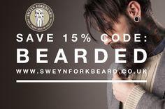 -15% Off online until 30May Code: BEARDED www.sweynforkbeard.co.uk #goals #beard #bearded #beardoil #beardbalm #beardshampoo #vikings #claypomade #hairdresser #mensgrooming #moustachewax #barba #beardie #beardlife #barber #barberia #peluqueria #beardlove #beardedmen #barberlife #beardnation #barbudo #barbershop