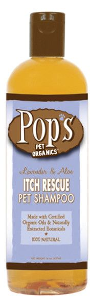Pops Pet Organics Itch Rescue Shampoo - 16 oz