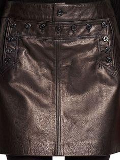 Shop Clothing for Men, Women, Children & Babies Polo Ralph Lauren Shorts, Leather Pieces, Black Denim Shorts, Smooth Leather, Sailor, Leather Skirt, Baby Kids, Mini Skirts, Clothes For Women