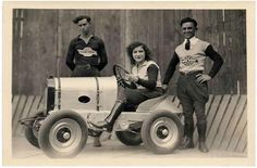 Lillian La France in her early Motordrome riding days  SHE RIPPED AND SHE ROARED | EPIC WOMEN OF DESTINY & DETERMINATION « The Selvedge Yard