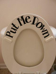 Put It Down.... Oooootima ideia!!