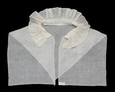 Woman's collar. American, early 19th century. In the Museum of Fine Arts Boston.