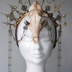 Fox Skull and Tech Headdress