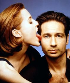 Scully & Mulder. Yum.