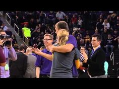 ▶ UNI Men's Basketball Fan Wins $7,000 Diamond Ring for Making Half-Court Shot Thanks to Riddles Jewelry!