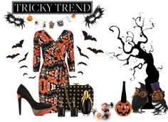 """""""Tricky Trend"""" by defineyourstyle on Polyvore"""