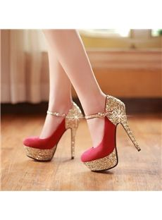 Fashionable All-matched Stiletto Heels Closed-toe Women Shoes