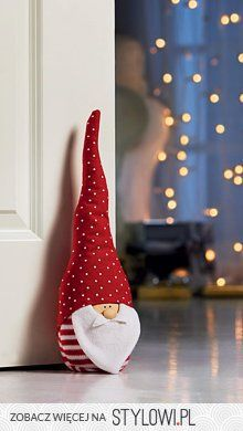 The Christmas gnome in a red hat for home decoration Christmas Sewing, Christmas Gnome, Christmas Projects, Christmas Stockings, Christmas Holidays, Merry Christmas, Christmas Ornaments, Christmas Door, Christmas Makes