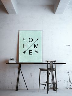 Boho Wandbild, Wandgestaltung, Poster für ein gemütliches Zuhause, Wohndeko / boho poster, walldecoration, poster for a cozy home, home accessory made by goodGirrrl via DaWanda.com