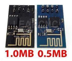 ESP8266 ESP-01 Arduino Module 1mb vs 0.5mb