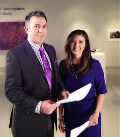 @ABC30 Action News anchors Jason Oliveira & Margot Kim on location at the Fresno Art Museum shooting portions of our latest Children First TV Special: Kids & the Arts.  The special airs Sunday, April 6 at 6:30pm on ABC30.