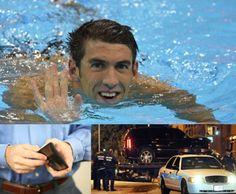 Nadador Michael Phelps es arrestado por conducir ebrio - http://notimundo.com.mx/deportes/nadador-michael-phelps-es-arrestado-por-conducir-ebrio/17611