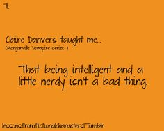 What Claire Danvers taught me