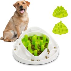[US$22.99] Interactive-Puppy-Dog-Pet-Slow-Eat-Feeder-Dish-Feeding-Food-Treat-Maze-Toy-Bowl Interactive-Puppy- #interactivepuppydogpetsloweatfeederdishfeedingfoodtreatmazetoybowl #interactivepuppy