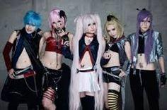 Metal vocaloid cosplay- Gakupo, Magane Rin, Hagane Miku, Meiko and Kaito