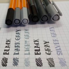 Comparisons: Stabilo 88's vs Staedtler Fineliners | Calvin Was Right