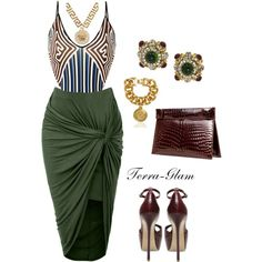 A fashion look from June 2015 by terra-glam featuring Clover Canyon, Steve Madden, Chanel and Versace Passion For Fashion, Love Fashion, Fashion Looks, Womens Fashion, Classy Outfits, Chic Outfits, Fashion Outfits, Dress Outfits, Mode Outfits