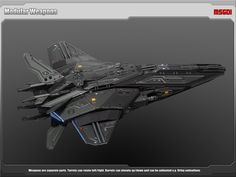 Elevate your workflow with the Spaceship Stingray Stealth Frigate asset from MSGDI. Find this & other Space options on the Unity Asset Store. Star Citizen, Space Ship Concept Art, Concept Ships, Spaceship Art, Spaceship Design, Starship Concept, Sci Fi Spaceships, Future Weapons, Sci Fi Ships