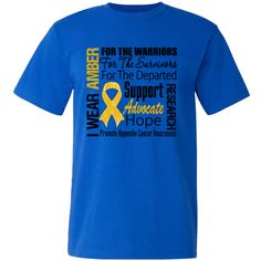 Appendix Cancer American Made T-Shirts  #AppendixCancerHope #AppendixCancerAwareness #AppendixCancerShirts