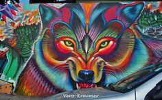 Grafites - São Paulo by ALÉM DA RUA ATELIER/Veronica Kraemer, via Flickr #grafitti #grafite #streetart #artederua #urbanart #arteurbana