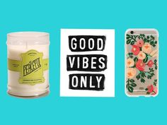 Good vibes, mood, positivity, green juice, healing crystals, be your best...these aren't just Instagram hashtags, they are a lifestyle. While some of us channel more grumpy cat vibes than motivational coffee mug vibes, that's OK. We can still find the perfect gift for our friend who is all about her vibes, including crystal bar soaps, captivating candles, inspirational socks, mantra wall art, and cozy robes.