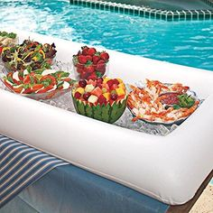 Ship from USA Serving Bar Inflatable Drain Ice Chests Cooler Salads Snacks Drinks Fruits Party ITEM NO8YIFW81854265445 -- Continue to the product at the image link.