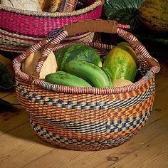 Multicoloured Ukhamba Style Basket | Culture Vulture Direct