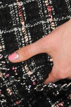 Nail art on the Chanel Couture Fall '12 runway