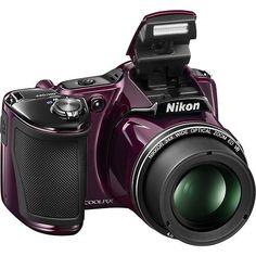 Nikon Coolpix L830 16.0Megapixel Digital Camera Purple 26441 - Best Buy